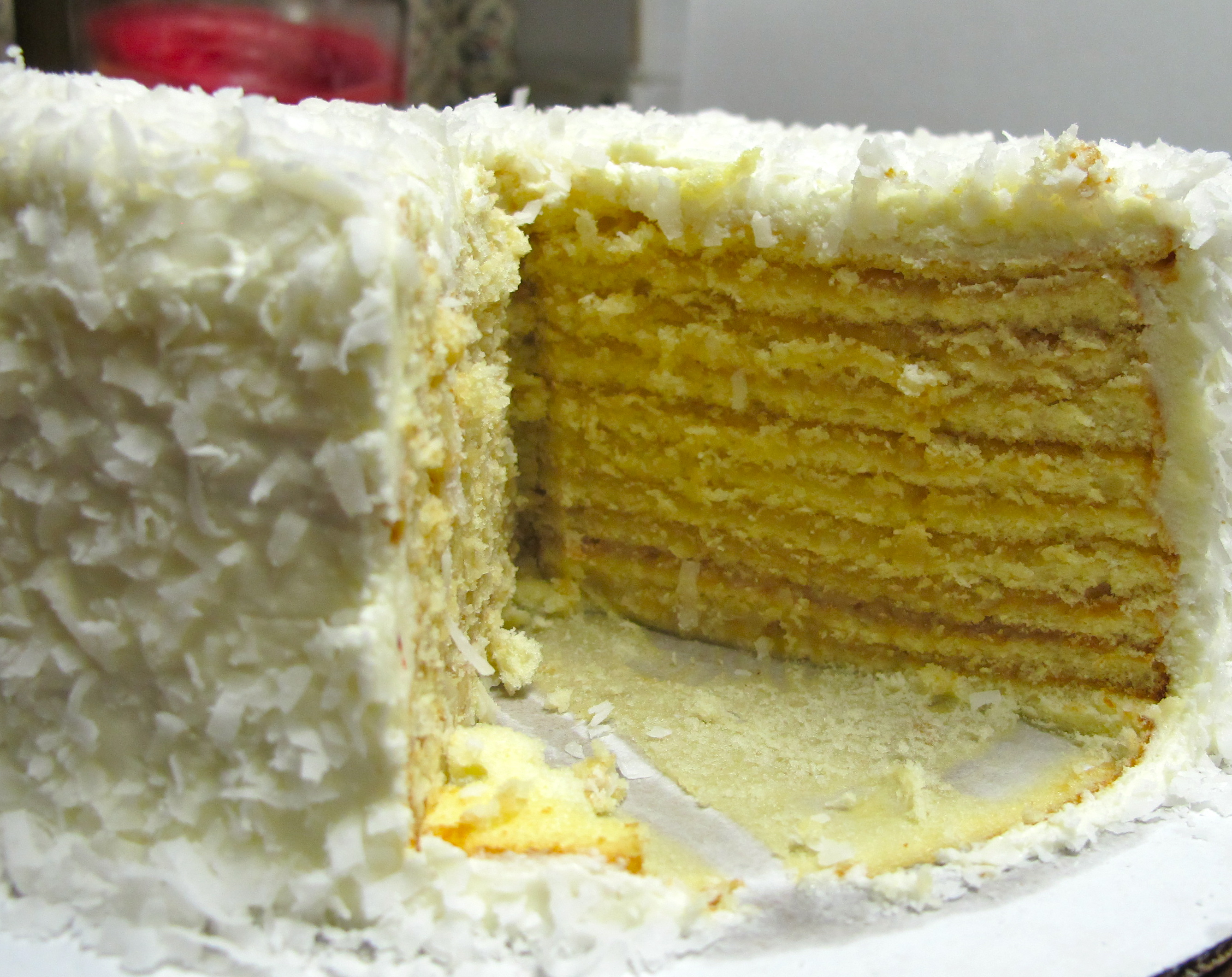 bear cuisine cake a smith island cake coconut frosting